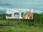 Matagalpa Schild am Stadteingang