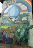 Wandbild in Matagalpa - Heinz Velten und Andreas und nic Knstler